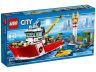 ЛЕГО СИТИ - Пожарникарска Лодка 60109