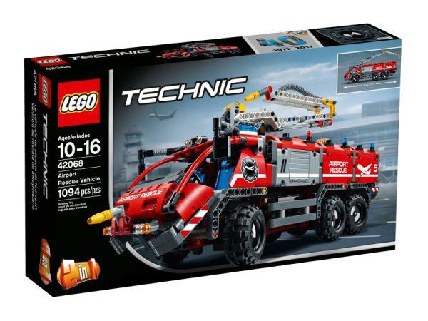ЛЕГО Техник - Пожарникарски спасителен камион 42068