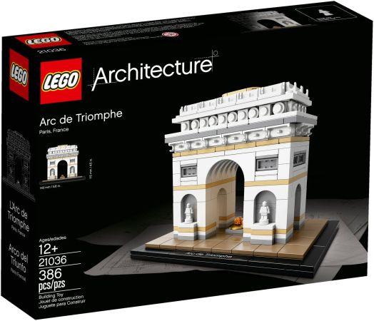 ЛЕГО Архитектура - Триумфалната арка 21036