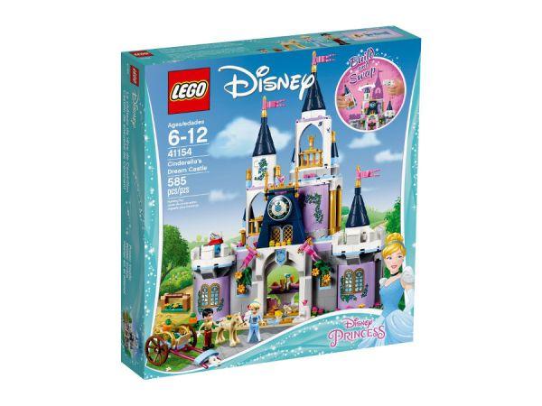 ЛЕГО Принцесите на Дисни - Вълшебния замък на Пепеляшка 41154