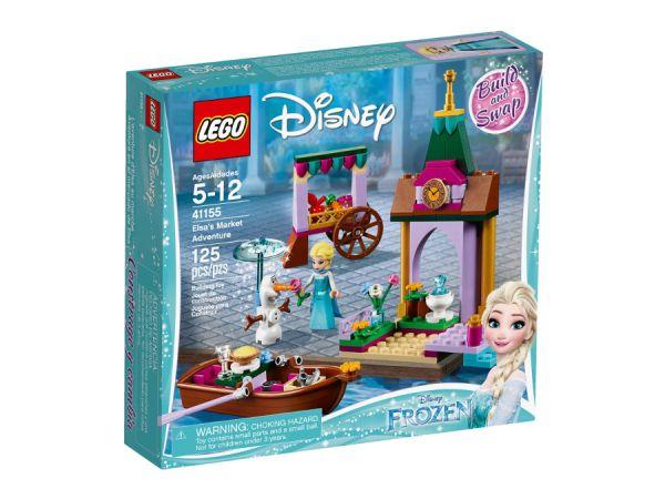 ЛЕГО Принцесите на Дисни - Пазарното приключение на Елза 41155