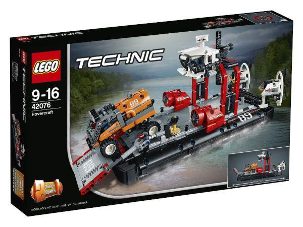 ЛЕГО Техник - Kораб на въздушна възглавница 42076