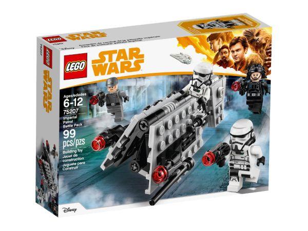 ЛЕГО Стар Уорс - Боен пакет за патрулиране на империята 75207