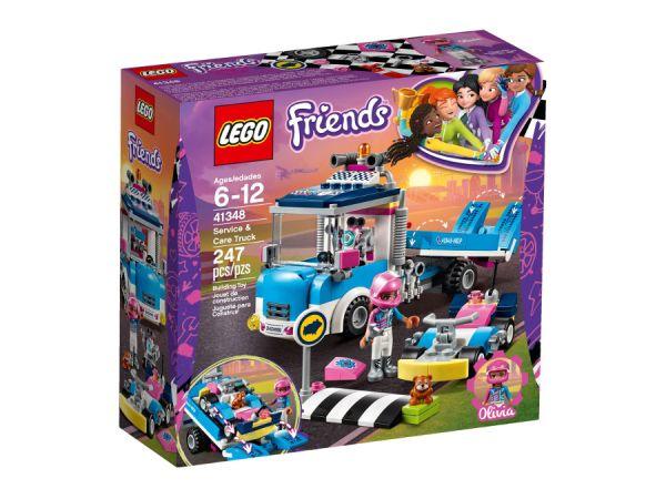ЛЕГО ФРЕНДС - Камион за обслужване 41348