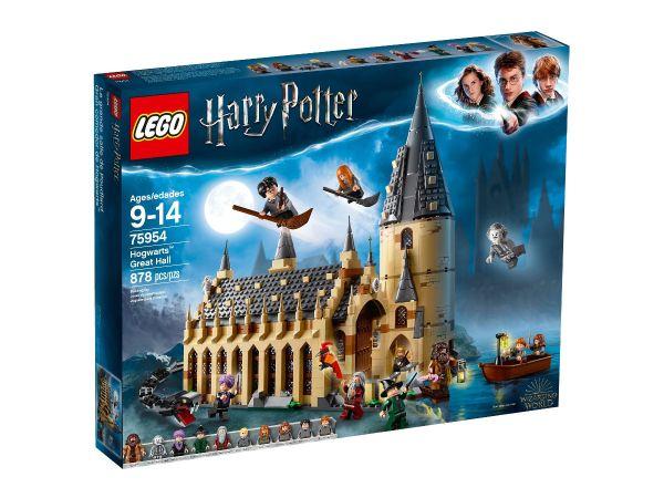 ЛЕГО Хари Потър - Голямата зала на Хогуортс 75954