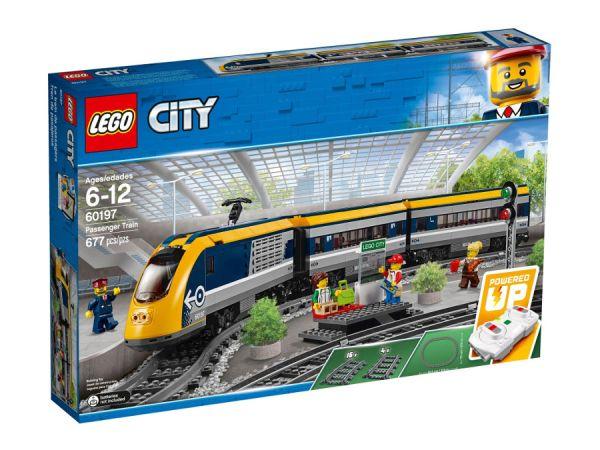ЛЕГО Сити - Пътнически влак 60197
