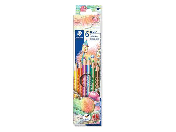 Цветни моливи Staedtler NC 127, 6 цвята