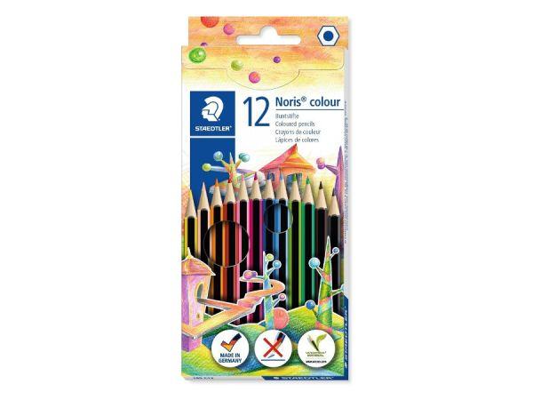 Цветни моливи Staedtler Noris Colour 185, 12 цвята
