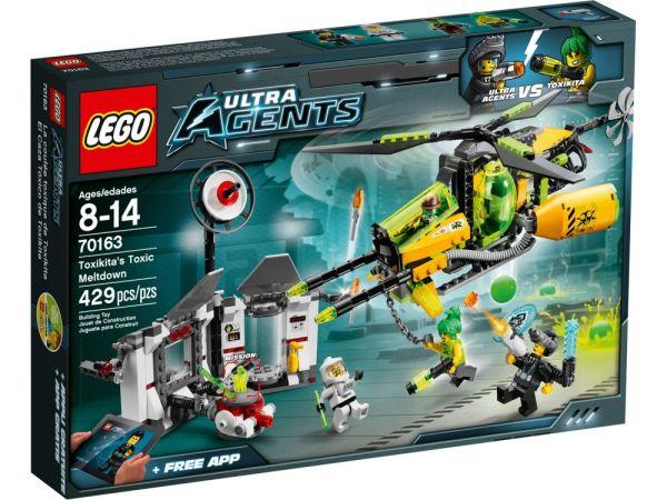Лего Ултра Агенти Токсичния срив на Токсикита 70163
