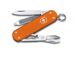 Викторинокс Нож Victorinox Classic, Alox Limited Edition 2021, tiger orange 0.6221.L21