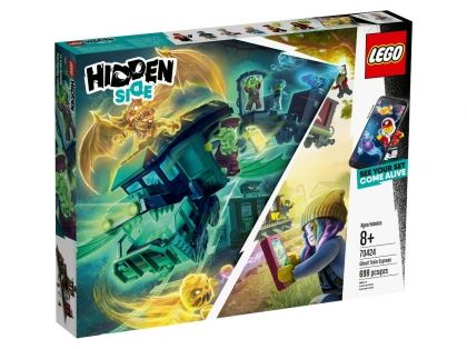 LEGO® Hidden Side™ Лего Скрита страна - Експресен влак с духове 70424