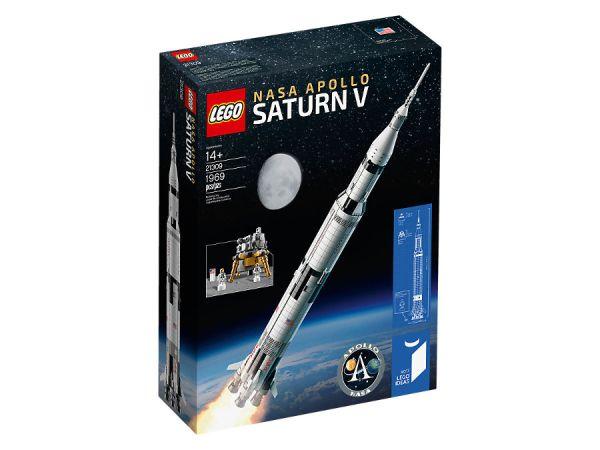 ЛЕГО Идеи -  НАСА Аполо Сатурн V 21309