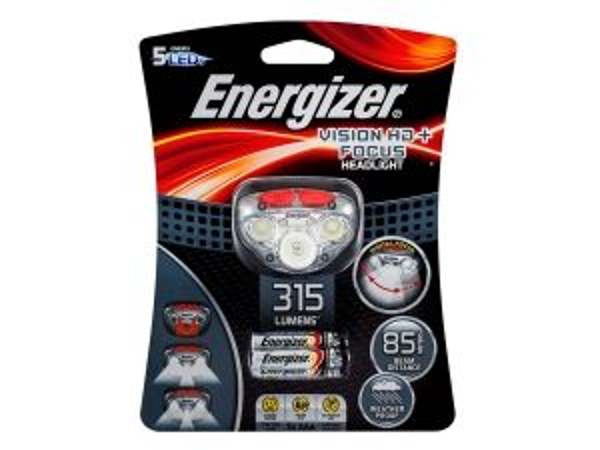 Фенер Челник Енерджайзер Вижън 315 Лумена Energizer Vision HD+ Focus Headlight 315 Lumens