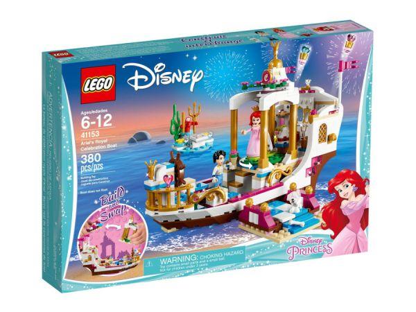 ЛЕГО Принцесите на Дисни -  Кралската празнична лодка на Ариел 41153