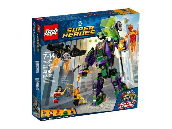 ЛЕГО Супер Хироус - Роботски сблъсък с Лекс Лутор 76097