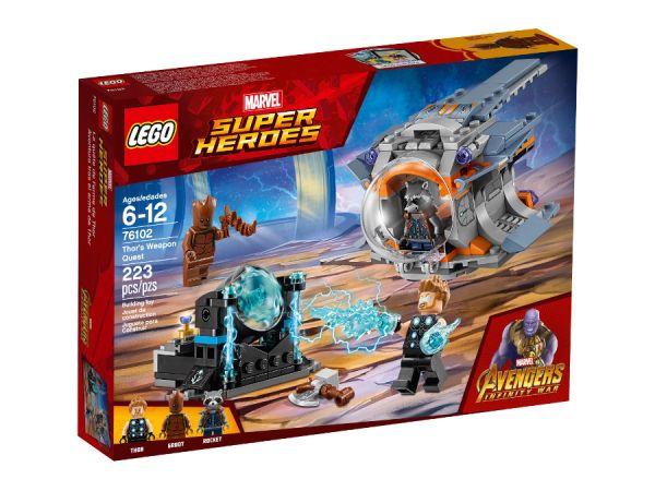 ЛЕГО Супер Хироус - Мисията за оръжието на Тор 76102