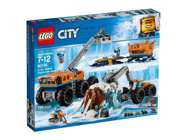 ЛЕГО Сити - Арктическа мобилна изследователска база 60195