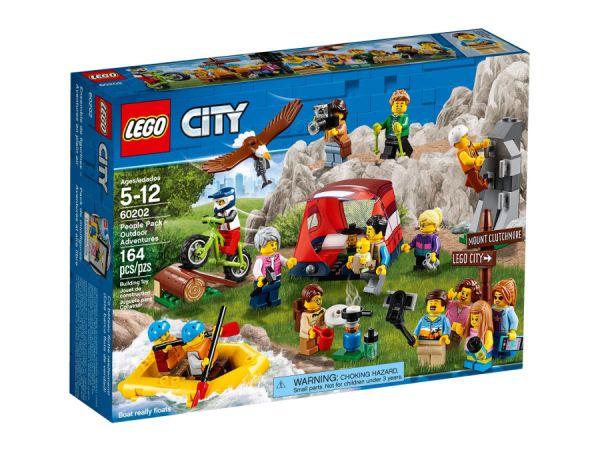 ЛЕГО Сити - Пакет с хора – приключения сред природата 60202