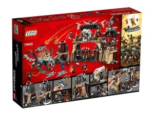 ЛЕГО Нинджаго Бърлогата на драконите 70655
