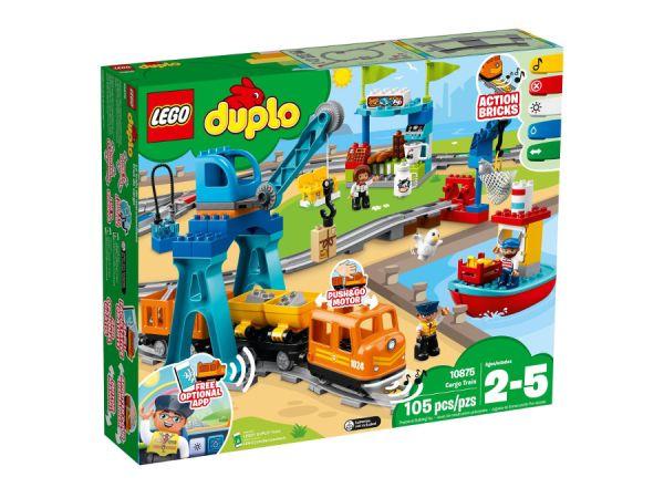 ЛЕГО Дупло -  Товарен влак 10875
