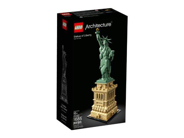 ЛЕГО Архитектура - Статуята на свободата 21042