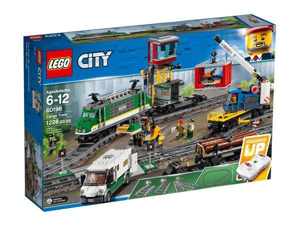 ЛЕГО Сити - Товарен влак 60198