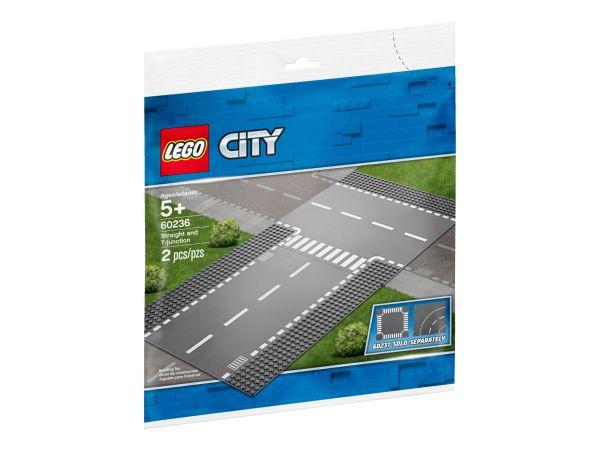 ЛЕГО Сити - Улица с Т кръстовище 60236