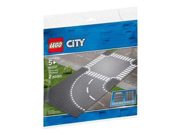 ЛЕГО Сити - Завой и кръстовище 60237