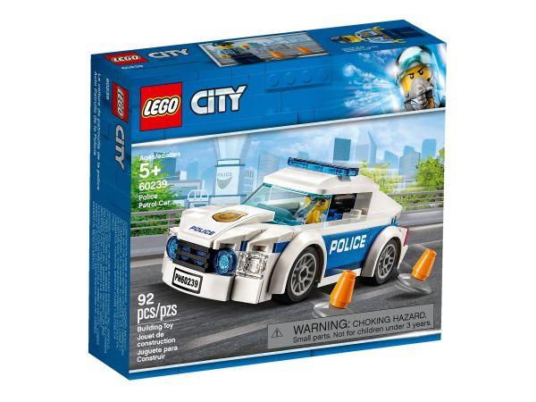 ЛЕГО Сити - Полицейска патрулна кола 60239