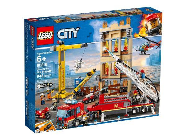 ЛЕГО Сити - Пожарна команда в центъра 60216