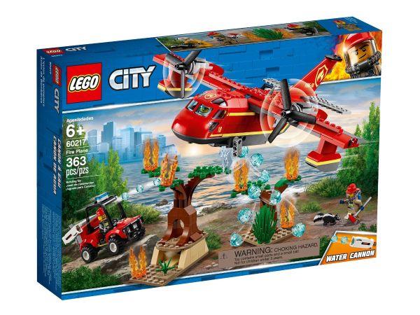 ЛЕГО Сити - Пожарникарски самолет 60217