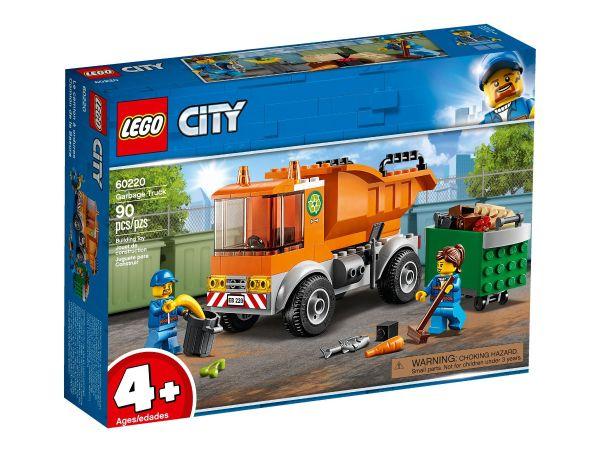 ЛЕГО Сити - Боклукчийски камион 60220
