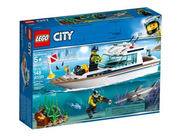ЛЕГО Сити -  Яхта за гмуркане 60221
