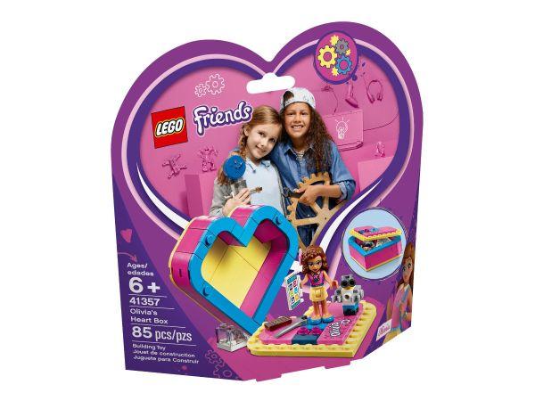 ЛЕГО Френдс - Кутия сърце на Оливия  41357