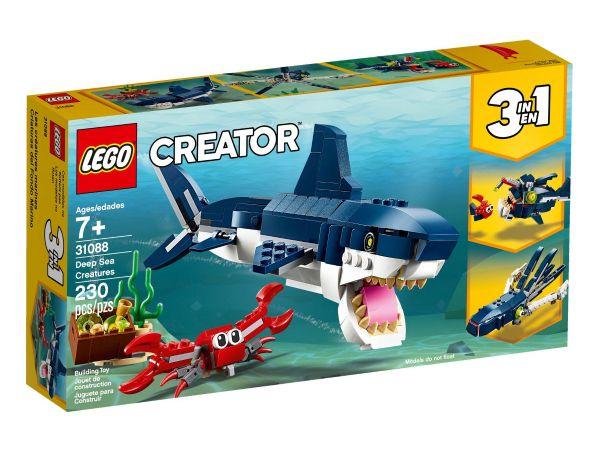 ЛЕГО Криейтър - Дълбоко морски създания 31088