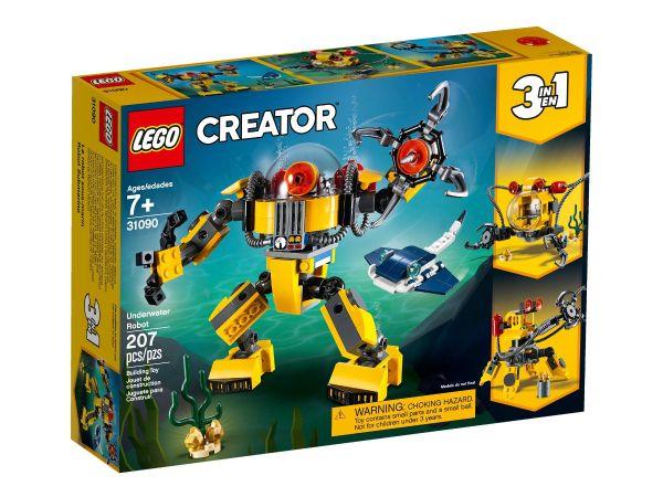 ЛЕГО Криейтър - Подводен робот 31090