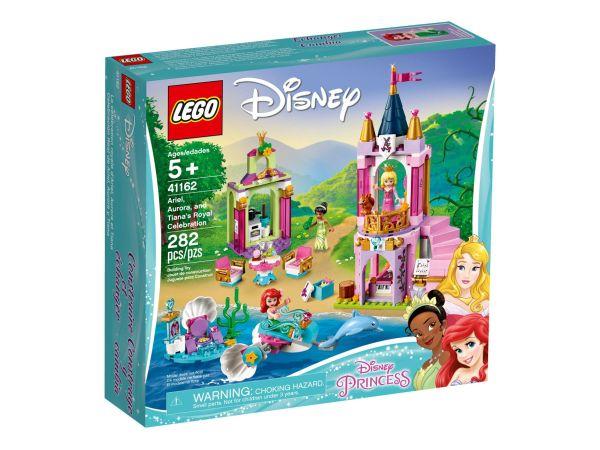 ЛЕГО Лего Принцесите на Дисни - Двореца на Ариел, Аврора и Тиана 41162