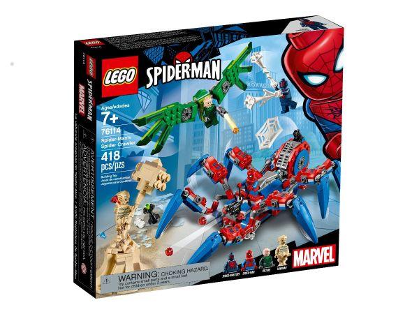 ЛЕГО Супер Хироус - Пълзящия паяк на Спайдър Мен 76114
