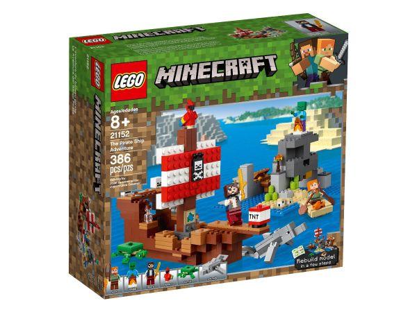 ЛЕГО Майнкрафт - Приключение с пиратски кораб 21152