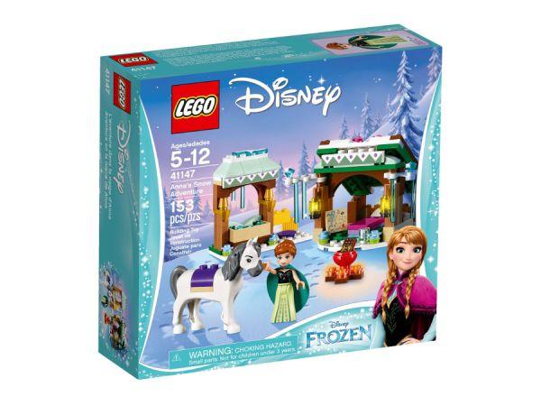 ЛЕГО Принцесите на Дисни -  Снежното приключение на Анна 41147